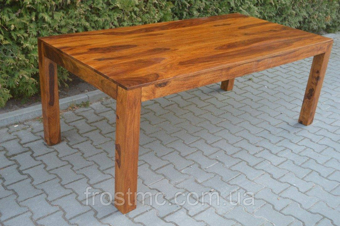 Indyjski drewniany stol