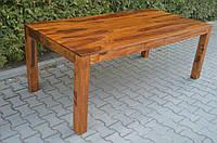 Indyjski drewniany stol, фото 1