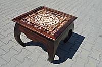 Indyjski drewniany stolik, фото 1
