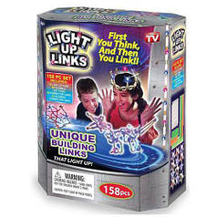 Светящийся конструктор Light Up Links 158pcs