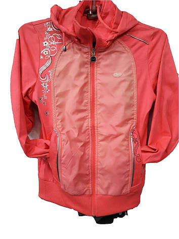 Костюм спортивный подростковый для девочек Grandex розовый, фото 2