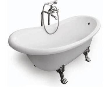 Ванна ретро OTYLIA 160х77 Besco з ніжками хром
