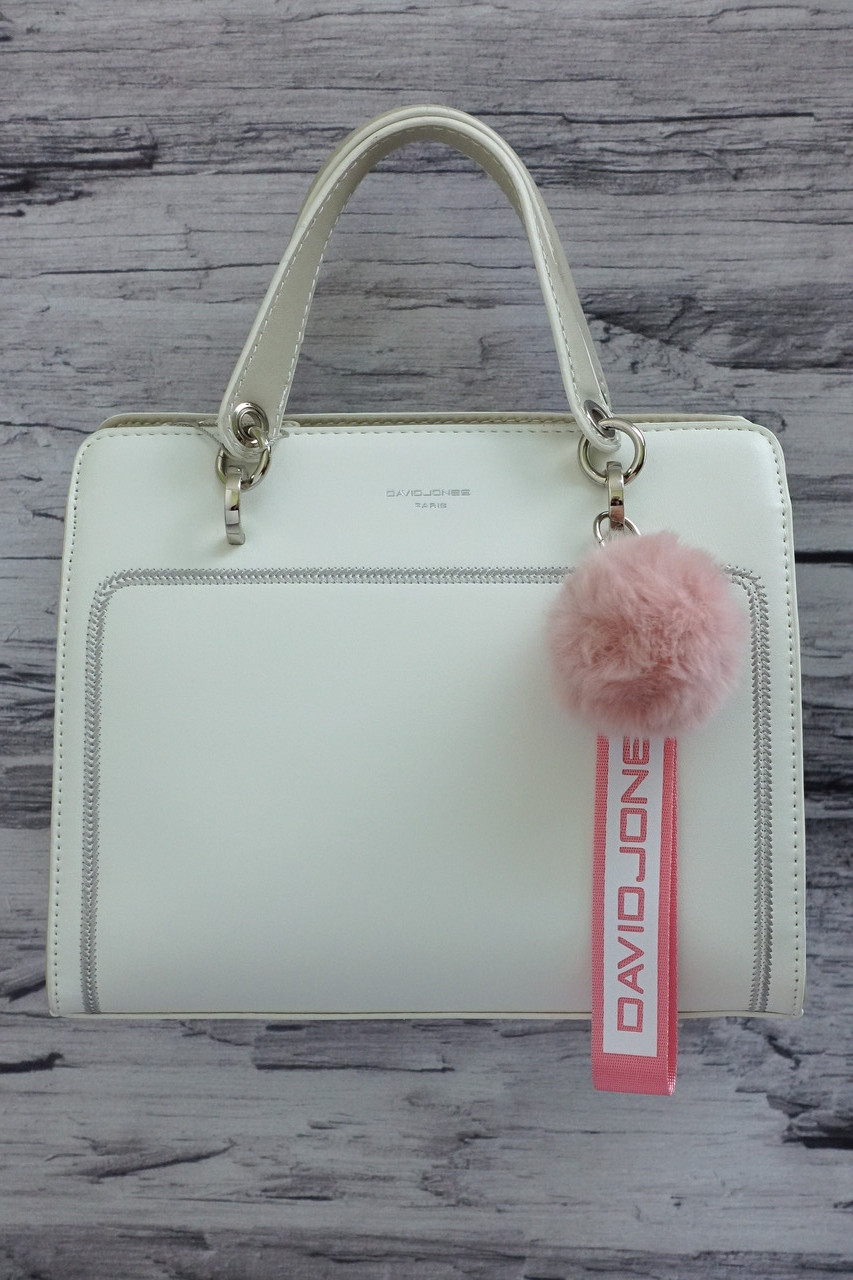 Небольшая сумочка David Jones 5993-2T white