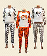 f5dbfcbf8352 Пижама женская велсофт 4718 Dika. TM Dresko Пижама женская Леопард велсофт  (5503224)