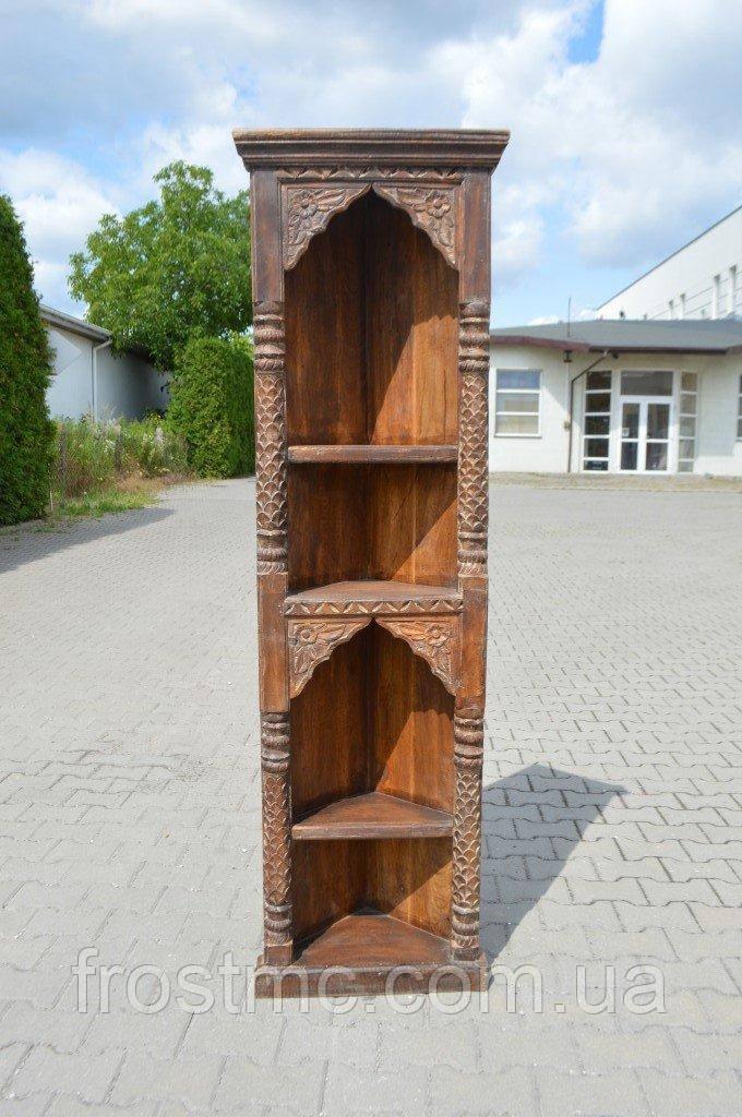 Indyjska drewniana biblioteczka