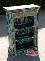 Indyjski drewniany regał/biblioteka, фото 1
