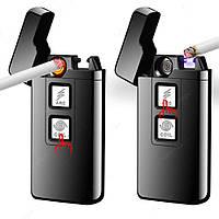Электроимпульсная зажигалка в подарочной упаковке Arc Cigarette, фото 1