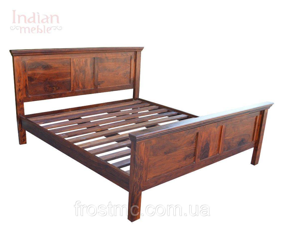 Індійське дерев'яне ліжко