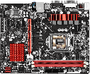 "Материнская плата ASRock H81M-G Socket 1150 DDR3 ""Over-Stock"" Б/У, фото 3"