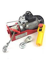 Тельфер, лебедка электрическая Euro Craft Польша 300/600 кг (HJ 206)