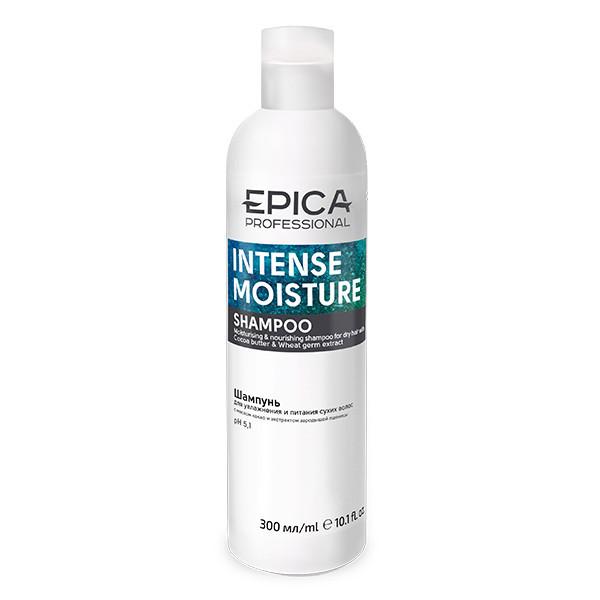 Шампунь EPICA Intense Moisture для увлажнения и питания сухих волос с маслом какао (300 мл)