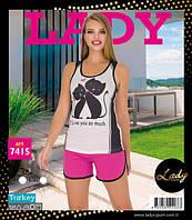 LADY LINGERIE Футболка+шорты 7415