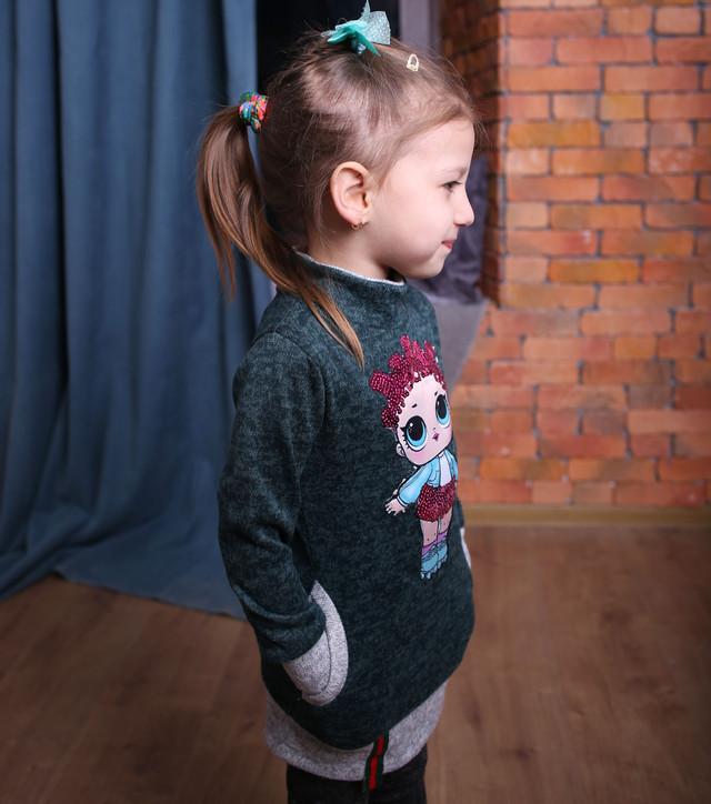 Вы можете купить платье-тунику для девочки недорого по низким ценам Детские туники для девочек 2019, Платье туника для девочки, Детское платье-туника в Украине