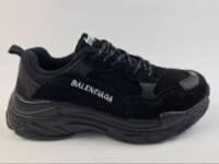 "Кроссовки Balenciaga Triple S ""Black"" реплика топ качества"