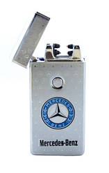 Электроимпульсная зажигалка Jinlun M3 Silver
