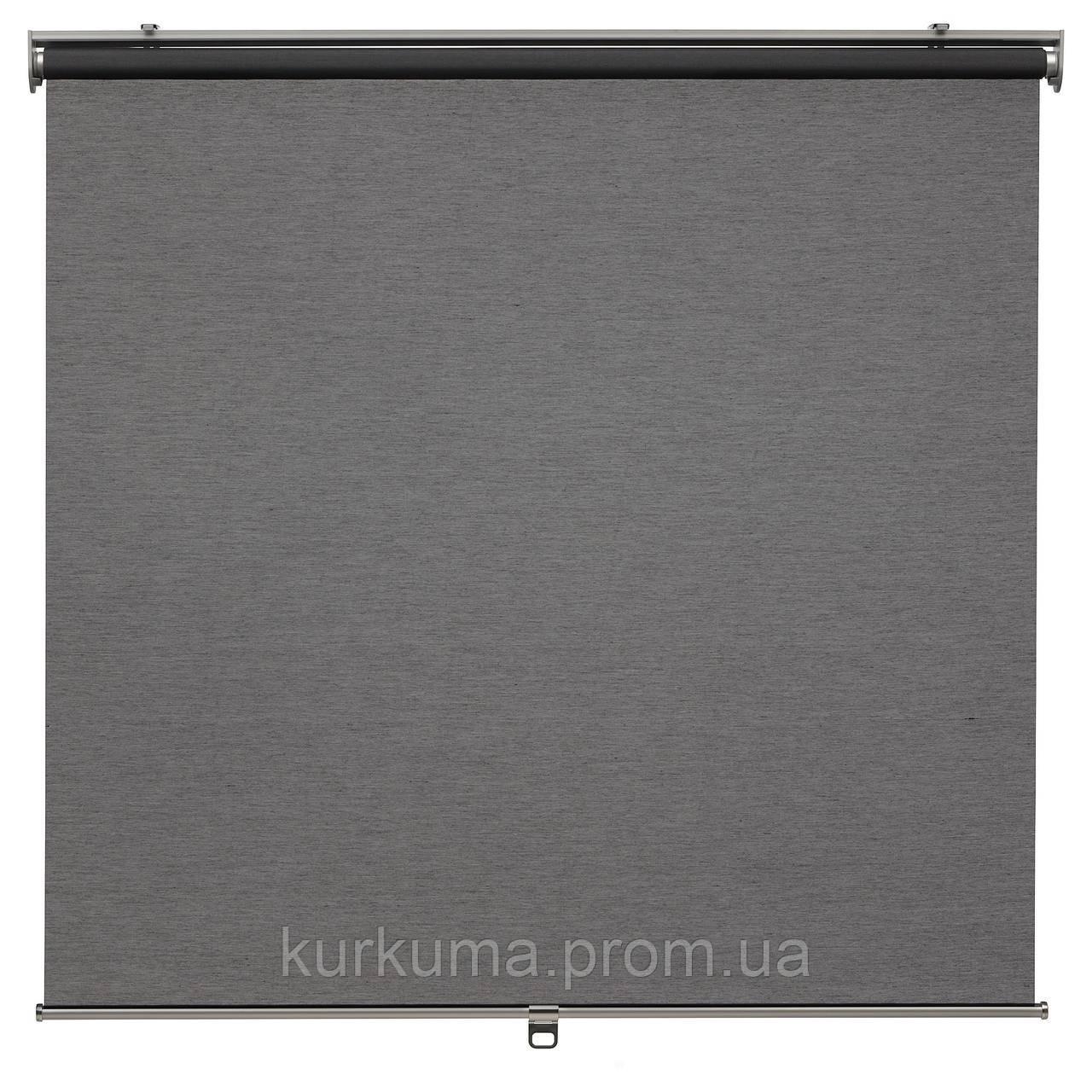 IKEA SKOGSKLOVER Рулонные шторы, серый  (903.146.14)