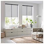 IKEA SKOGSKLOVER Рулонные шторы, серый  (903.146.14), фото 2