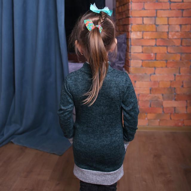 Детская туника Туника на девочку в Украине Туника для девочки теплая Платье-туника для девочки Продажа туник для девочек