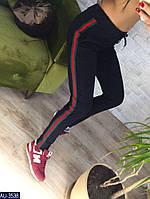 Женские спортивные штаны двунить