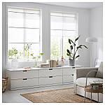 IKEA RINGBLOMMA Римские шторы, белый  (302.580.60), фото 5