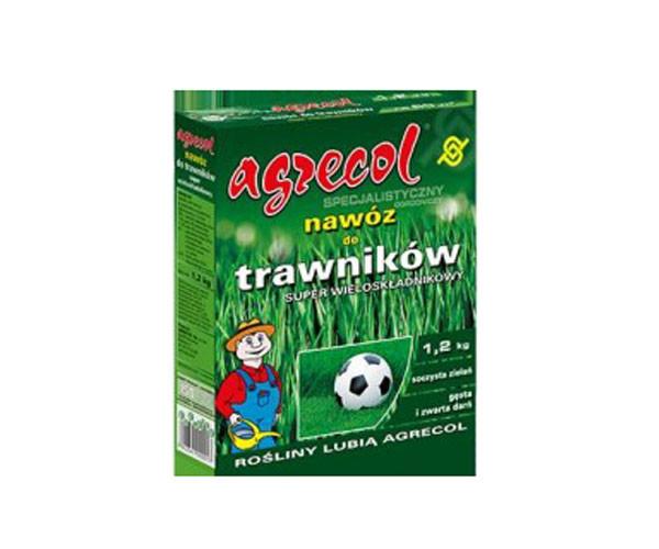 Удобрение Agrecol для газонов многокомпонентное 1,2 кг