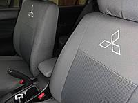 Чехлы в салон Митсубиси Лансер - Чехлы для сидений Оригинальные Mitsubishi Lancer X Sedan (2.0) с 2007 г (Elegant)