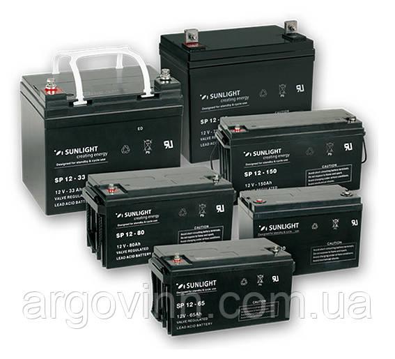 Акумулятор SUNLIGHT VRLA-AGM SP 12-80