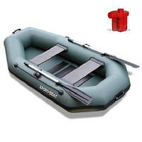 Човен надувний Sport-Boat L 260LS + Насос електричний Турбинка 12V АС 401
