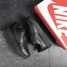 Кроссовки в стиле Air Force AF 1 черные, код7465, фото 3