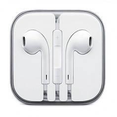 Наушники+ДУ Apple EarPods with Remote and Mic (MNHF2AM/A)