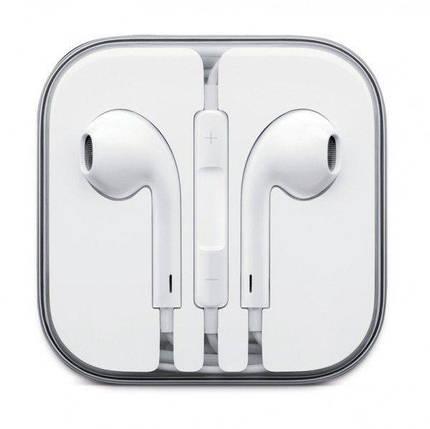Наушники+ДУ Apple EarPods with Remote and Mic (MNHF2AM/A), фото 2
