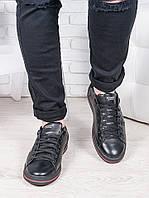 Черные мужские кеды 6677-28, фото 1