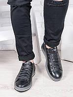 Мужские черные кеды 6685-28, фото 1