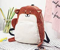 Рюкзак молодежный для девушки лисенок