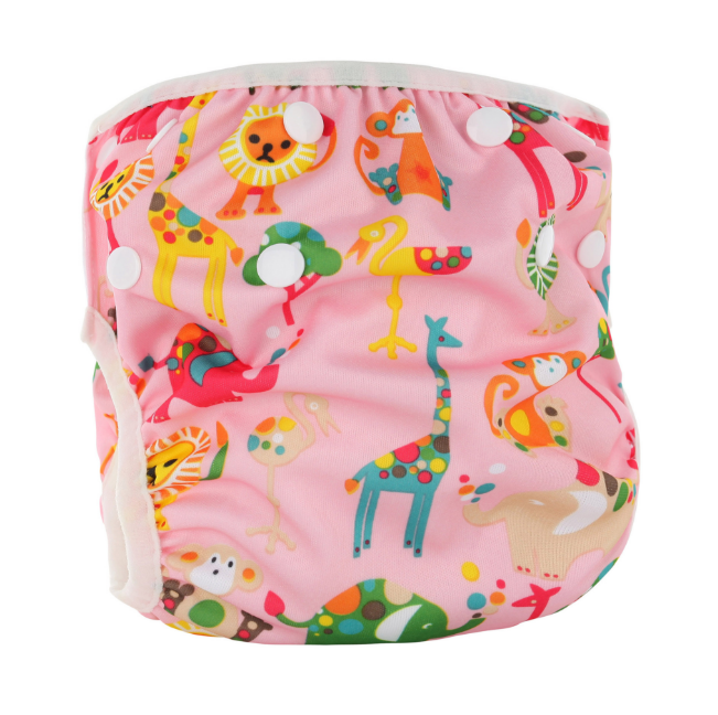 Непромокаемые плавки-подгузники для малышей