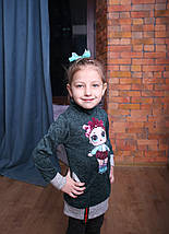 Платье туника на девочки Туника для девочки Детские туники Модель 2019 , фото 3
