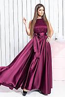 Женское нарядное платье в пол в разных цветах, фото 1