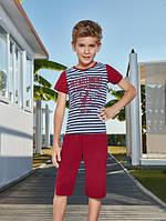 BERRAK Комплект футболка+капри для мальчика 5305