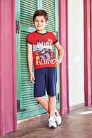 Комплект футболка+капри для мальчика 5336