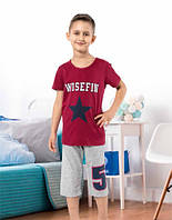MISS TIKO Комплект футболка+капри для мальчика E391