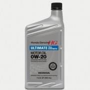 Масло моторное Honda Motor Oil Ultimate Full Synthetic 0W20 SN 0,946L  087989037