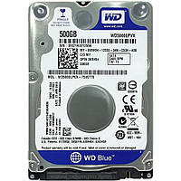 "Жесткий диск для ноутбука 2.5"" 500GB Western Digital (#WD5000LPVX-FR#)"