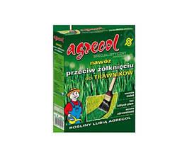 Удобрение 1,2 кг для газонов от пожелтения травы Agrecol