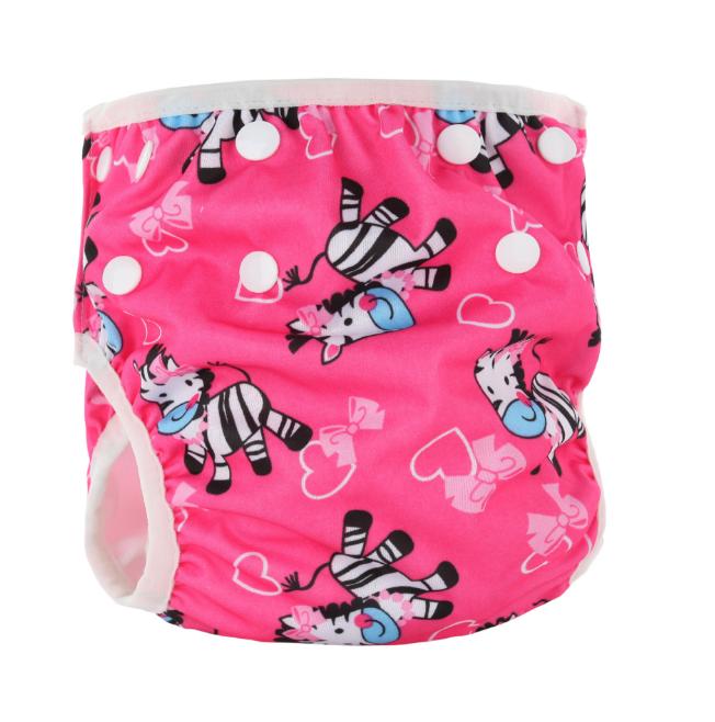 Непромокаемые плавки-подгузники для малышей Зебра (11670)