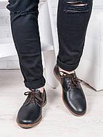 Мужские кожаные туфли 6890-28, фото 1