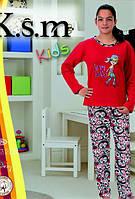 K.S.M. Пижама на флисе для девочек 4865