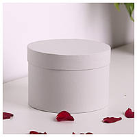 Шляпная круглая коробка d= 16 h=10 см, фото 1