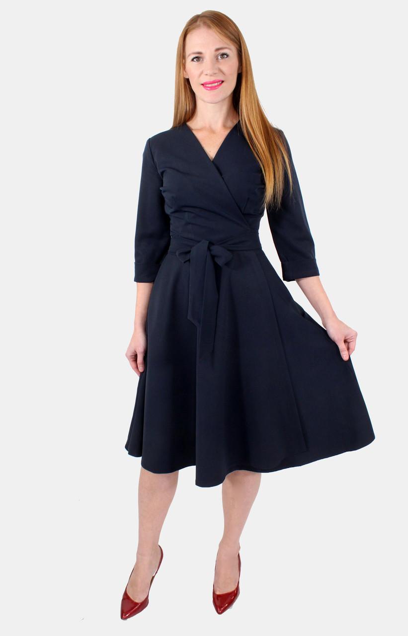 Платье-халат повседневное 46-50 р