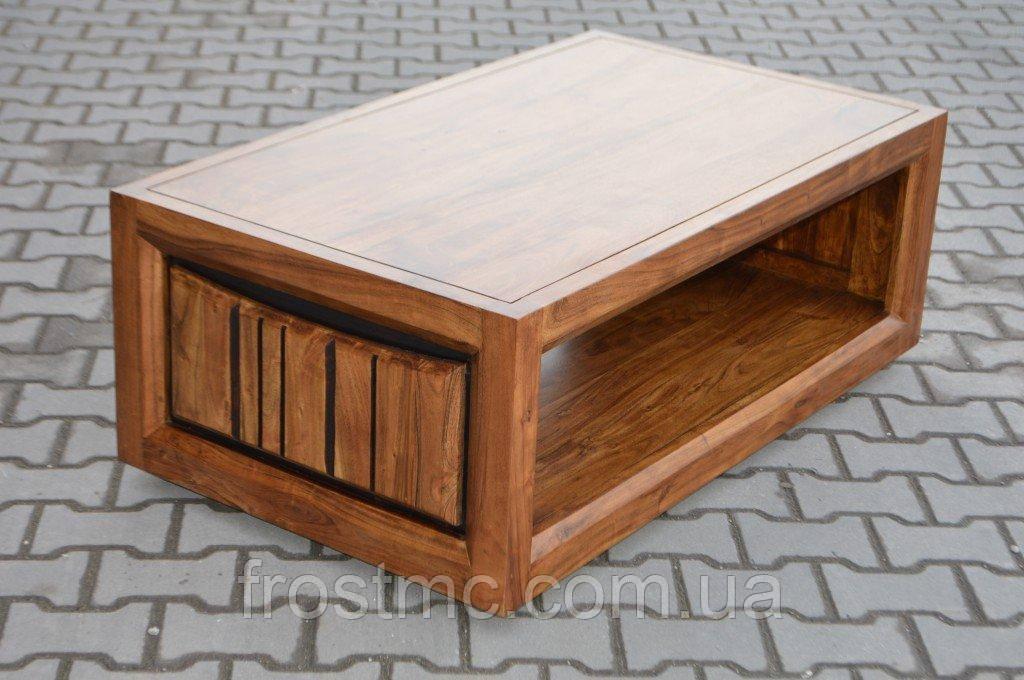 Indyjski drewniany stolik