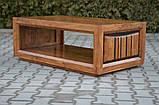 Indyjski drewniany stolik, фото 2